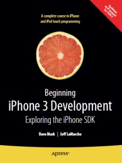 Cover knihy Beginning iPhone Development