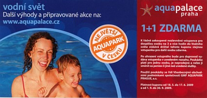 Voucher do AquaPalace